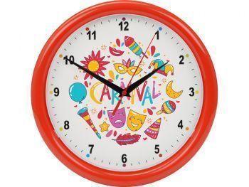 Часы настенные разборные «Idea», красные