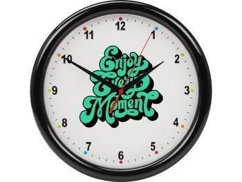 Часы настенные разборные «Idea», черные
