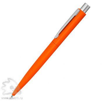 Ручка шариковая металлическая «Lumos», soft-touch, оранжевая