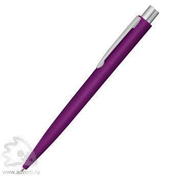 Ручка шариковая металлическая «Lumos», soft-touch, фиолетовая