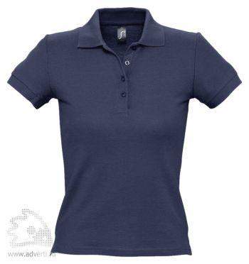 Рубашка поло «People 210», женская, темно-синяя