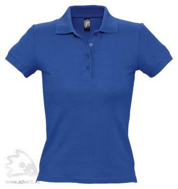 Рубашка поло «People 210», женская, синяя