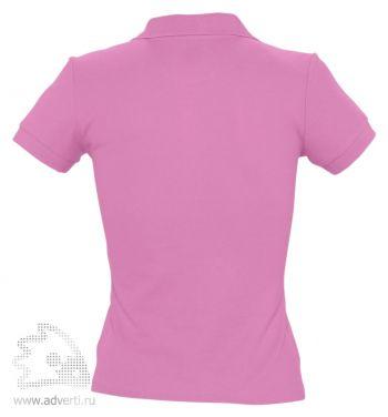 Рубашка поло «People 210», женская, розовая оборот