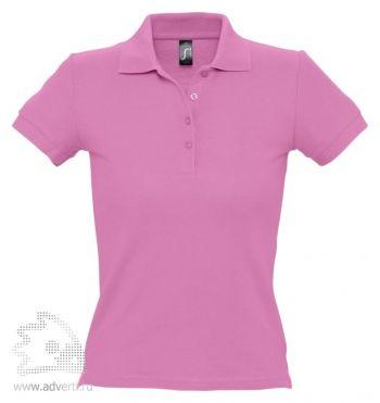 Рубашка поло «People 210», женская, розовая