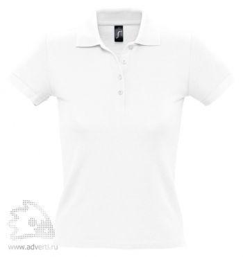 Рубашка поло «People 210», женская, белая