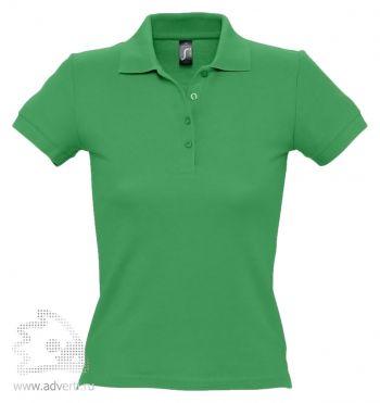 Рубашка поло «People 210», женская, зеленая
