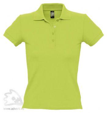 Рубашка поло «People 210», женская, светло-зеленая