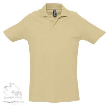 Рубашка поло «Spring 210», мужская, бежевая