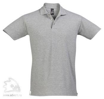 Рубашка поло «Spring 210», мужская, серая