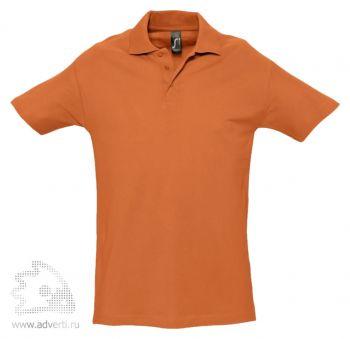 Рубашка поло «Spring 210», мужская, оранжевая