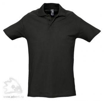 Рубашка поло «Spring 210», мужская, черная