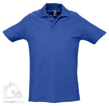 Рубашка поло «Spring 210», мужская, синяя