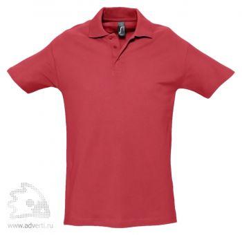 Рубашка поло «Spring 210», мужская, красная