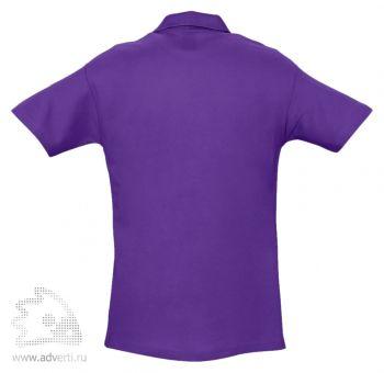 Рубашка поло «Spring 210», мужская, темно-фиолетовая оборот