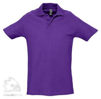 Рубашка поло «Spring 210», мужская, темно-фиолетовая