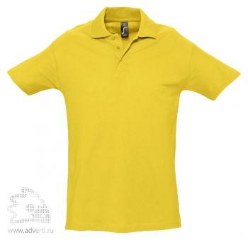 Рубашка поло «Spring 210», мужская, желтая