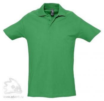 Рубашка поло «Spring 210», мужская, зеленая