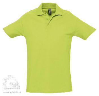 Рубашка поло «Spring 210», мужская, светло-зеленая