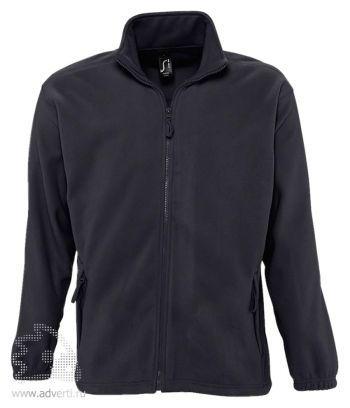 Куртка «North Men 300», мужская, Sol's, Франция, темно-серая