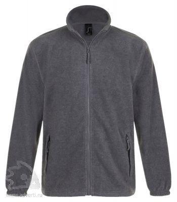 Куртка «North Men 300», мужская, Sol's, Франция, серая