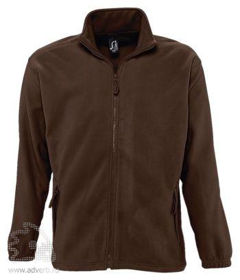 Куртка «North Men 300», мужская, Sol's, Франция, коричневая
