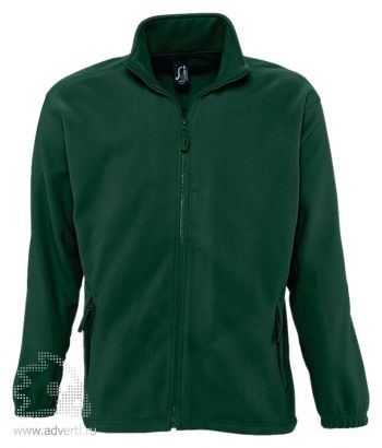 Куртка «North Men 300», мужская, Sol's, Франция, зеленая
