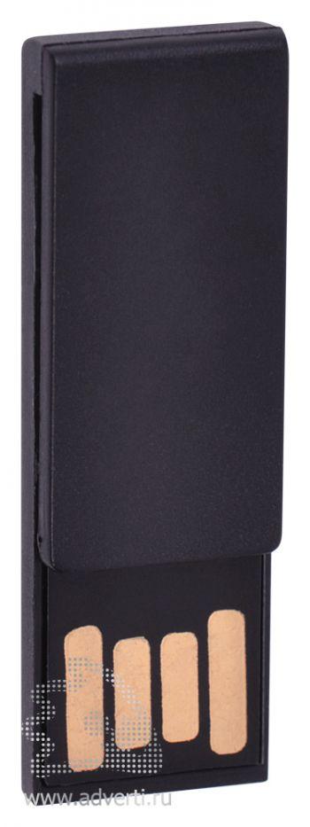 USB flash-карта «Clip», черная