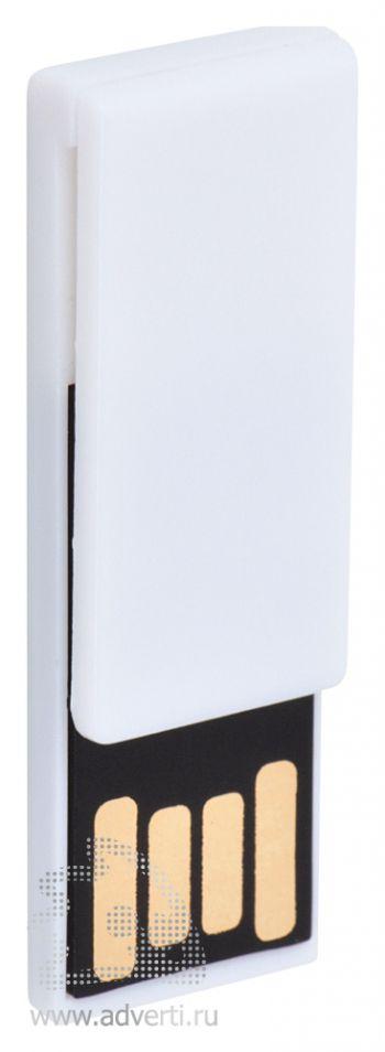 USB flash-карта «Clip», белая