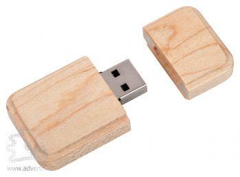 USB flash-карта «Wood», открытая
