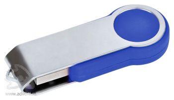 USB flash-карта «Swing», синяя, закрытая