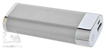 Универсальное зарядное устройство «Light» (5200mAh) с фонариком