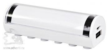 Универсальное зарядное устройство «Flash» с подсветкой логотипа