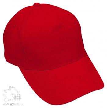 Бейсболка «Премиум», красная