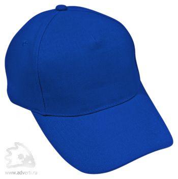 Бейсболка «Премиум», синяя