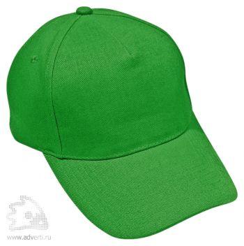 Бейсболка «Премиум», зеленая