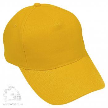 Бейсболка «Премиум», желтая
