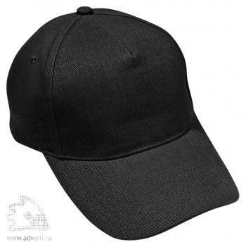 Бейсболка «Премиум», черная