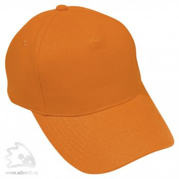 Бейсболка «Премиум», оранжевая