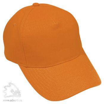 Бейсболка «Стандарт», оранжевая
