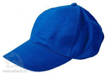 Бейсболка «Classic», синяя с белым