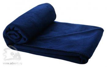 Плед в чехле «Huggy», темно-синее