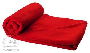 Плед в чехле «Huggy», красное