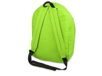 Рюкзак «Trend» с 2 отделениями на молнии и внешним карманом, салатовый, с другой стороны