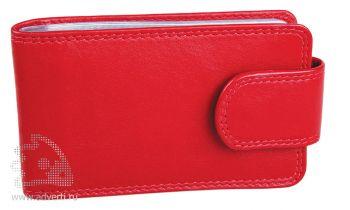 Футляр для кредитных карт «Верона», красный