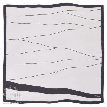 Платок «Monte Bianco», рисунок