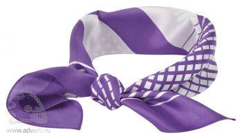 Платок «Ufficio», фиолетовый