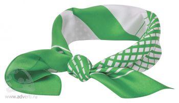 Платок «Ufficio», зеленый