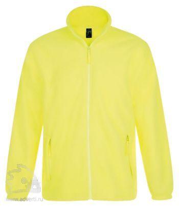 Куртка «North Men 300», мужская, Sol's, Франция, желтая