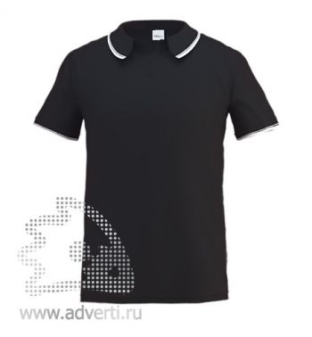 Рубашка поло «Stan Trophy», мужская, черная