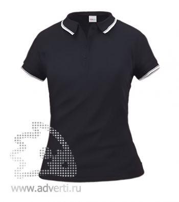 Рубашка поло «Stan Trophy W», женская, черная
